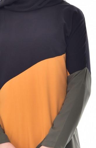 وايت بيرد تونيك بتصميم فيسكوز 6316-06 لون أسود 6316-06