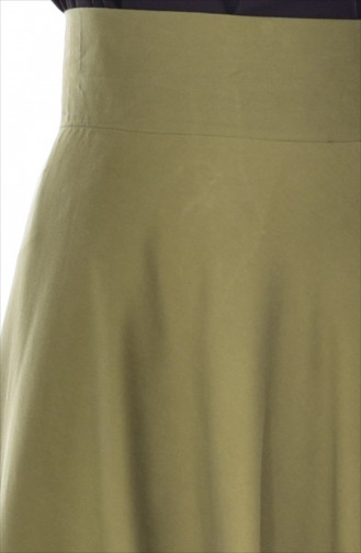 Jupe Vert khaki clair 2146-21