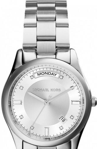 Silver Gray Watch 6067