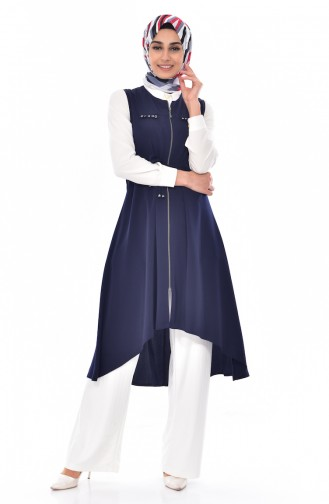 Navy Blue Vest 4735-06