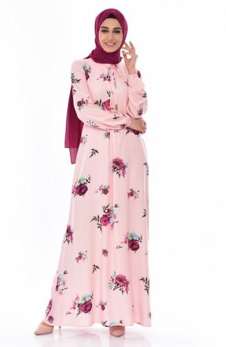 Patterned Dress 5040-13 Powder 5040-13