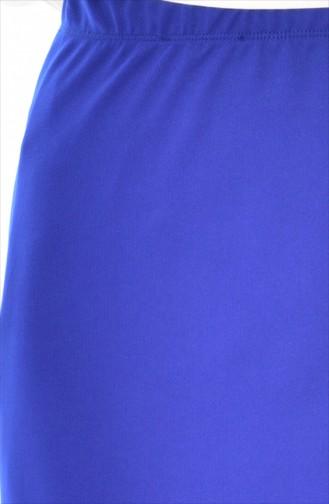 Jupe Crayon 20701-09 Bleu Roi 20701-09