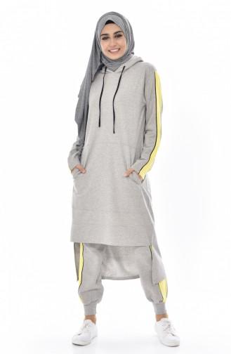 Yellow Sweatsuit 18024-09