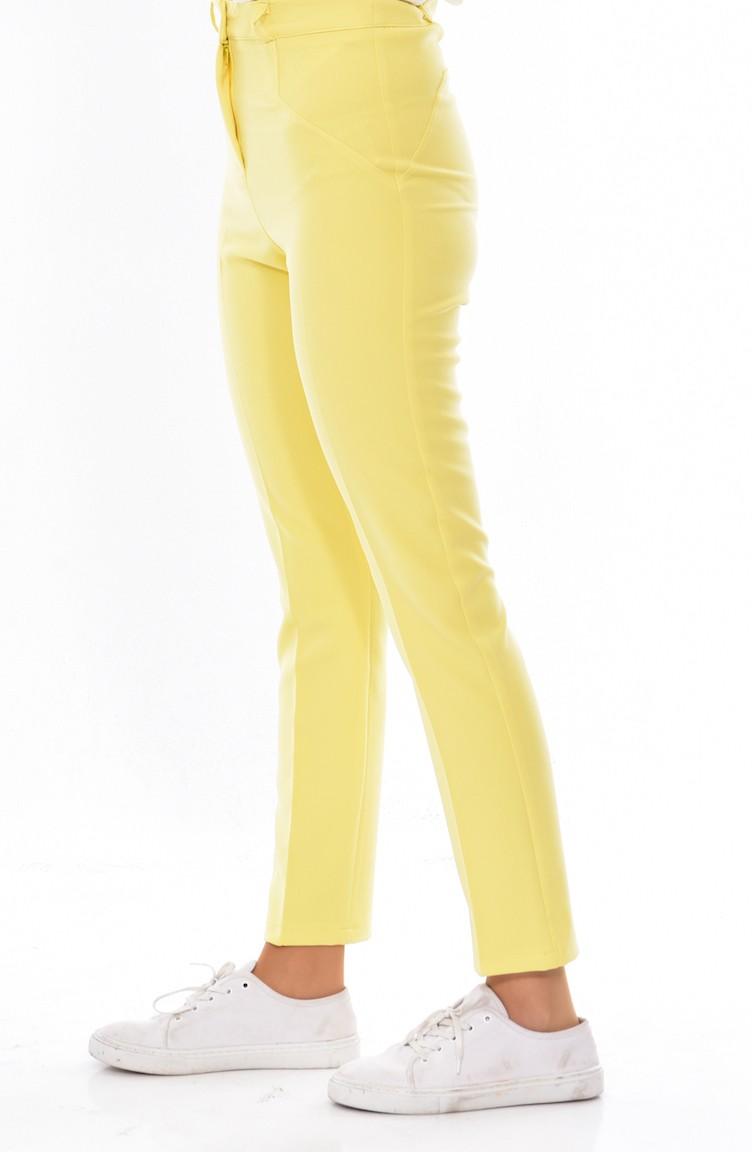 einzigartiger Stil 50% Preis billigsten Verkauf Damenhose 0152-09 Gelb 0152-09