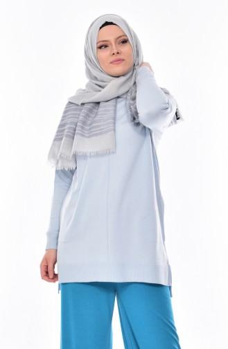 Knitwear Sweater 4653-07 Light blue 4653-07