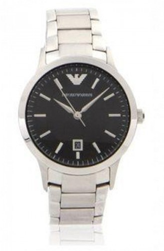 Silbergrau Uhren 9107L
