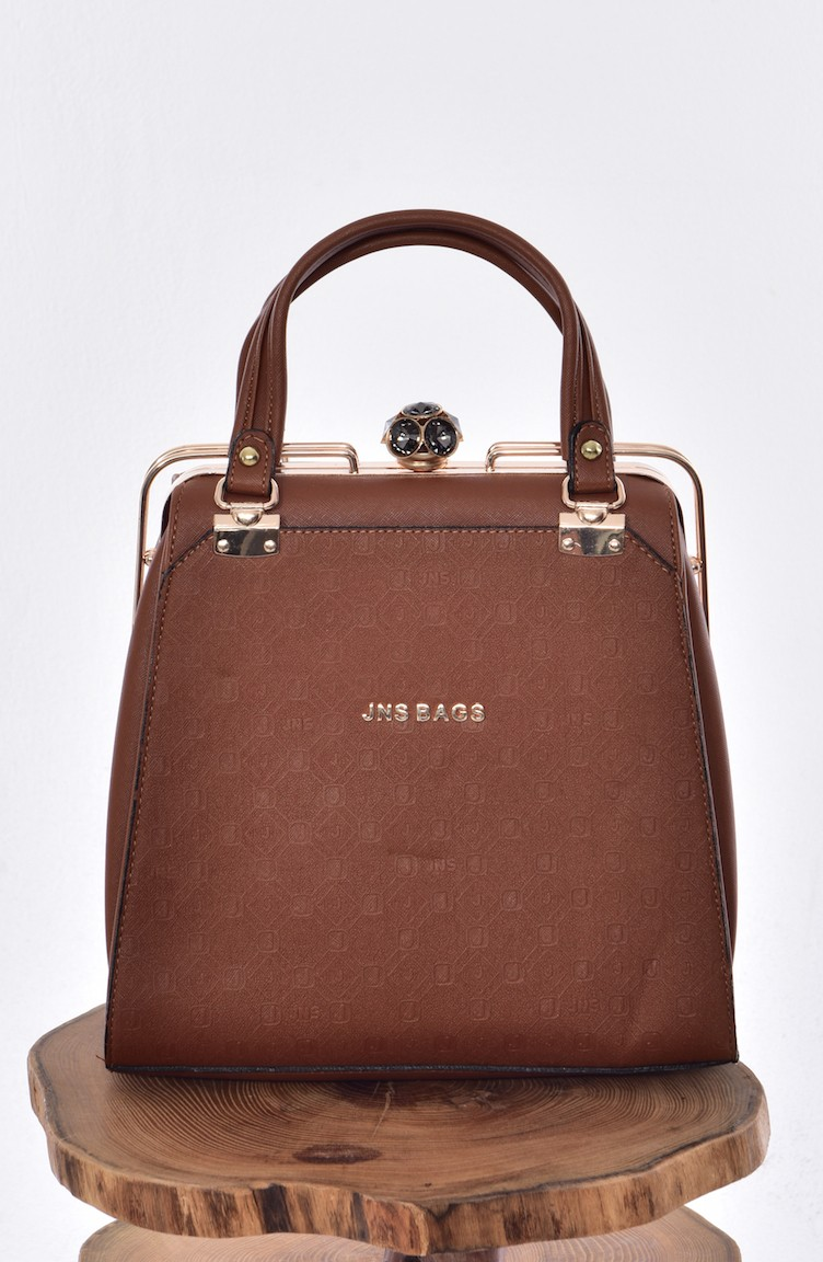 09bcf29d19 Tobacco Brown Shoulder Bag 0392-01 ...