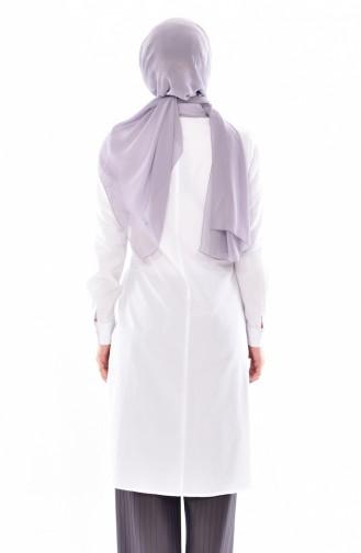 Garnished Shirt 1811935-100 White 1811935-100
