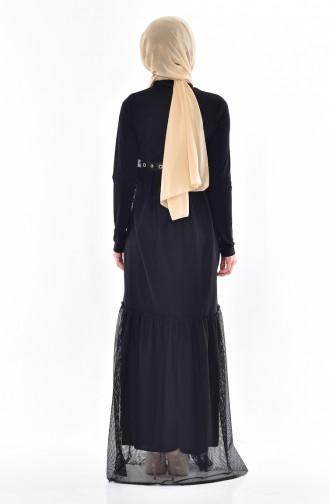 Robe Froufrous 9104-01 Noir 9104-01