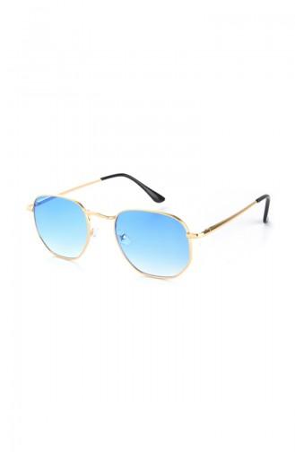Blue Sunglasses 1233E
