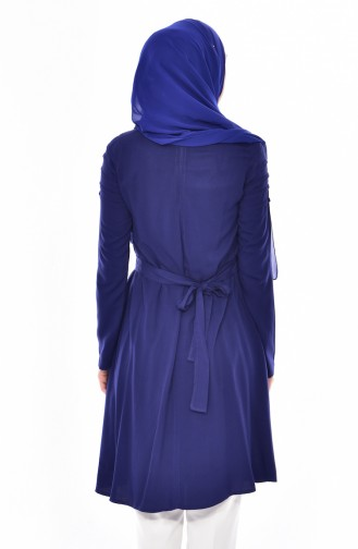 BWEST Belted Tunic 8152-02 Navy 8152-02