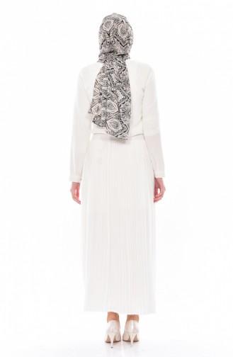 White Skirt 8149-02