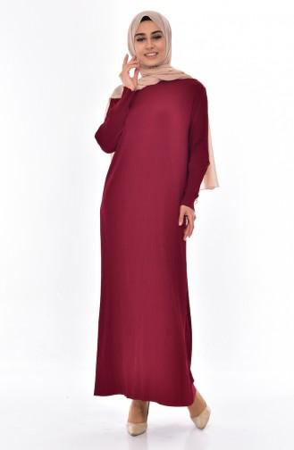 Robe Plissée 50844-03 Bordeaux 50844-03