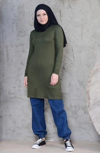 Tunique Viscose 1003-02 Khaki 1003-02