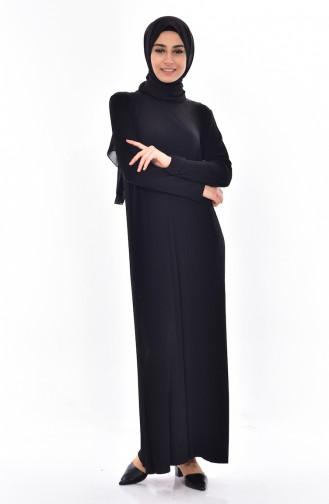 فستان أسود 50844-01
