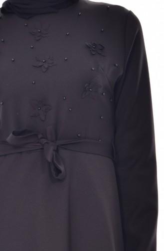 Robe a Ceinture 1085-02 Noir 1085-02