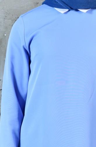 Tunik Pantolon İkili Takım 1957-07 Bebe Mavisi
