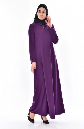 Buglem  Necklace Dress 3027-04 Purple 3027-04