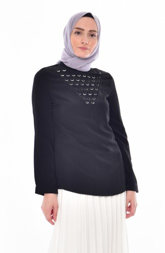 Black Blouse 1160-08