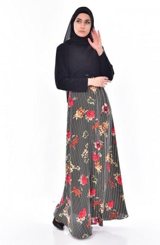 Khaki Dress 2267-02