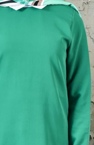 طقم تونيك وبنطال 1957-05 لون أخضر 1957-05