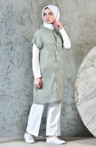 Hoodie Vest Tunic Double Suit 1817071-903 Khaki Light Beige 1817071-903