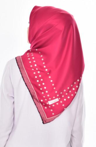 Dark Pink Scarf 02