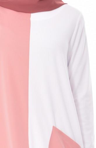 Robe Garnie 3314-03 Poudre Blanc 3314-03