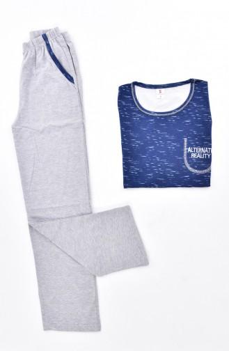 Ensemble Pyjama 2977-01-01 Bleu 2977-01-01