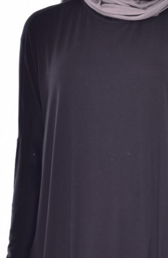 Longue Tunique 174012-01 Noir 174012-01