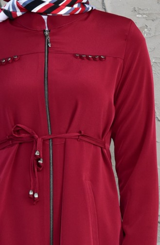Asymmetric Zipper Cap 6054-10 Bordeaux 6054-10