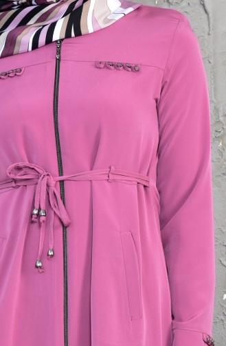 Asymmetrisches Cape mit Reißveerchluss 6054-11 Rosa 6054-11