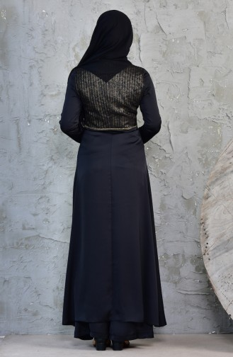 Abiye Ceket Pantolon İkili Takım 1817037-205 Siyah 1817037-205