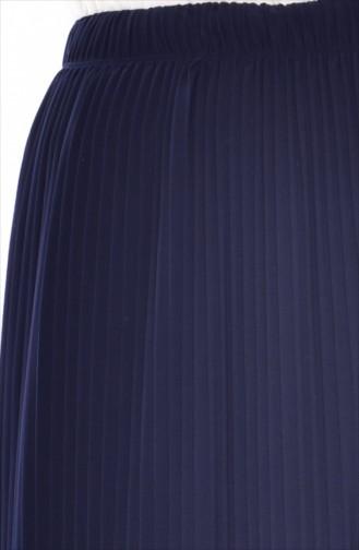 Jupe Plissée 20971-05 Bleu Marine 20971-05