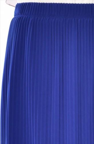 Jupe Plissée 20971-07 Bleu Roi 20971-07