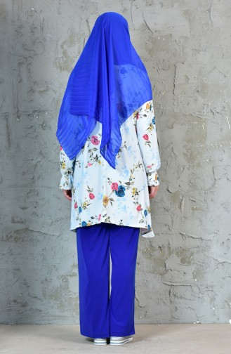 Tunic Trousers Double Suit 19041-03 Saks 19041-03