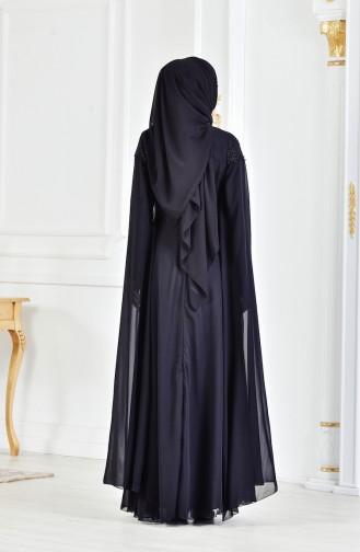 Robe de Soirée 3294-02 Noir 3294-02