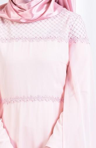 Robe de Soirée 3294-05 Saumon 3294-05