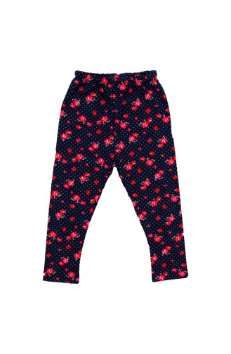 Navy Blue Baby and Kids Tights 004LAC
