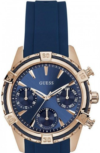 Navy Blue Horloge 0562L3
