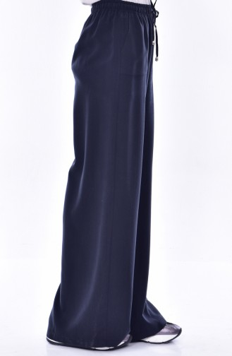 Pantalon Large 3106-02 Bleu Marine 3106-02
