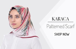 Karaca Patterned Scarf 90478
