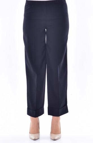 Duble Paça Pantolon 7225-06 Siyah