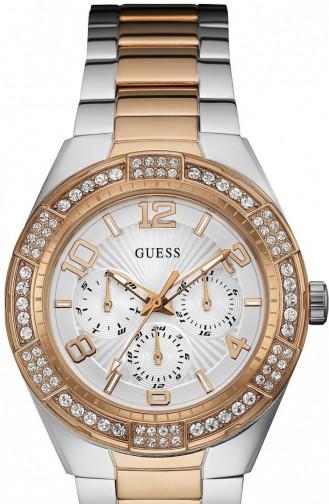 White Horloge 0729L4