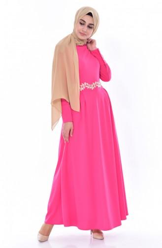 Robe Lacé 0038-10 Fushia 0038-10