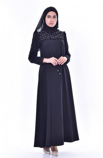 Robe Perlées 3032-04 Noir 3032-04
