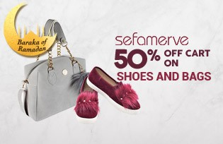 50% OFF CART ON SHOES AND BAGS