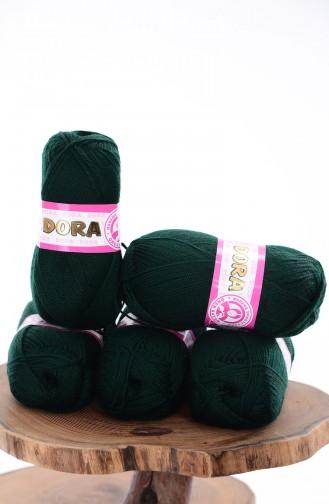 Ören Bayan Dora İplik 270-088 Koyu Yeşil 270-088