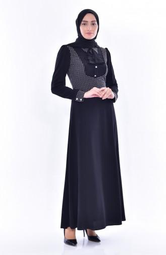 Garnili Dress 1513822-911 Black 1513822-911