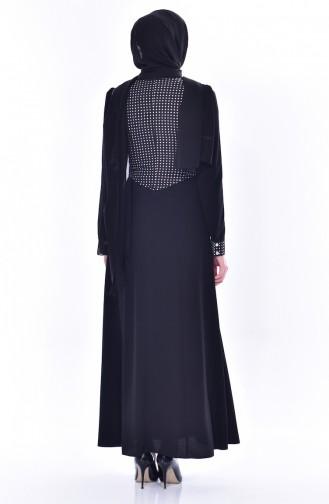 Robe Garnie 1513822-911 Noir 1513822-911